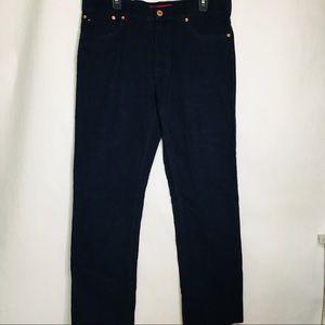 Tommy Hilfiger men's blue corduroy pants